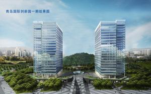 青岛创新园双子楼